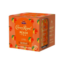 Crown Royal Peach Tea 4Pack/12oz