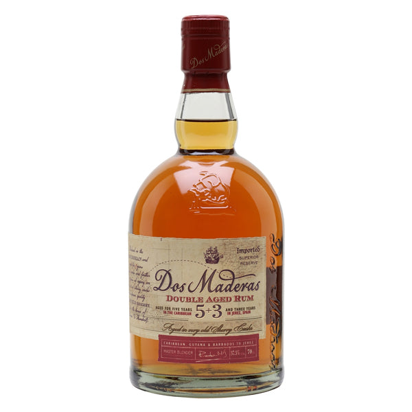 Dos Maderas Double Aged Rum 5+3 Years - Nestor Liquor