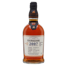 Foursquare 2007 Distillery 'Vintage' Single Blended 12 Year Rum