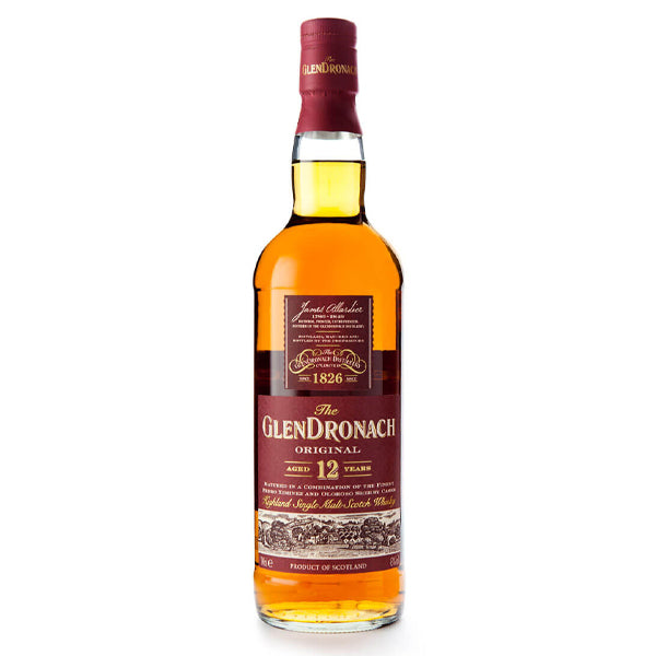 Glendronach 12 Year Highland Single Malt Scotch Whisky - Nestor Liquor