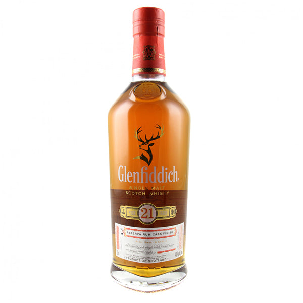 Glenfiddich Gran Reserva Single Malt Scotch Whiskey 21 Year - Nestor Liquor