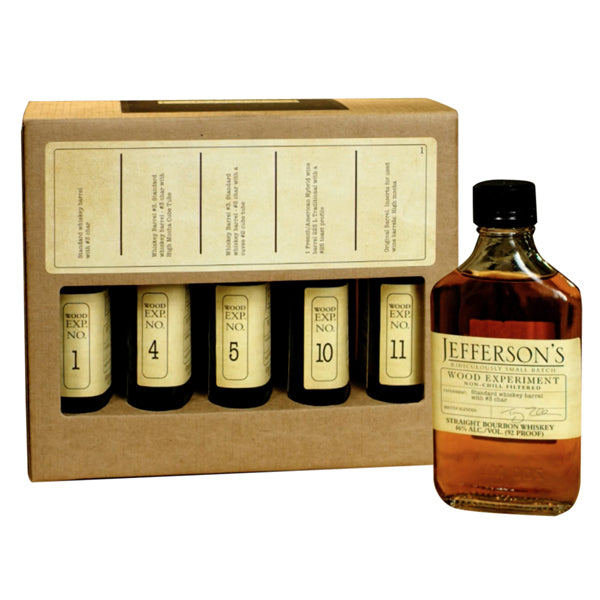 Jefferson's Wood Experiment Collection 200ml 5 pack - Nestor Liquor