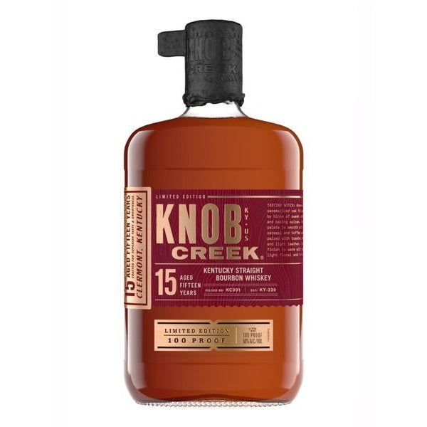 Knob Creek 15 Year Straight Kentucky Bourbon Limited Release - Nestor Liquor