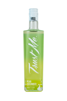 Trust Me Vodka Bottled Cocktail - Pear Cucumber 375ml