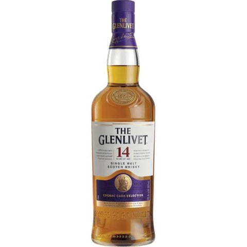 The Glenlivet Single Malt Scotch Whisky 14 yr Cognac Cask Selection - Nestor Liquor