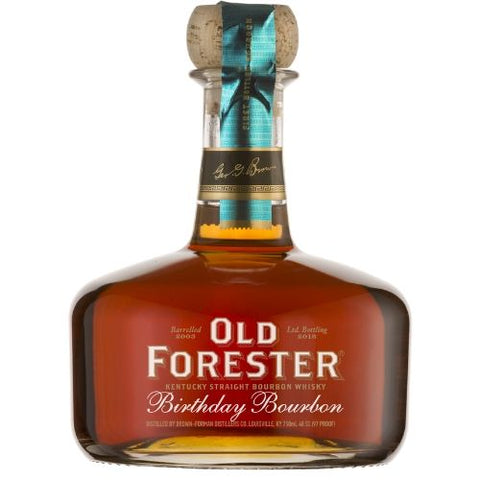 Old Forester Birthday Bourbon 12yr Limited Edition 2015 - Nestor Liquor