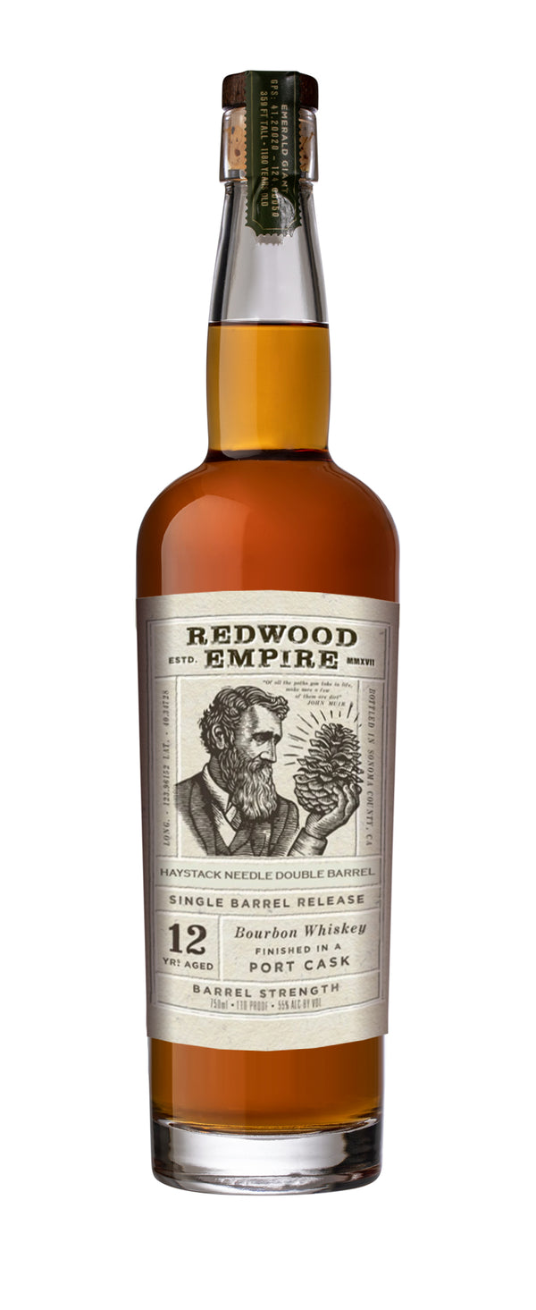 Redwood Empire 12 Year Bourbon Whiskey Finished In A Port Cask SDBB - Nestor Liquor