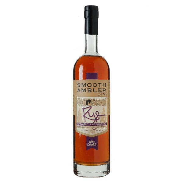Smooth Ambler Old Scout 4-year Rye - Nestor Liquor