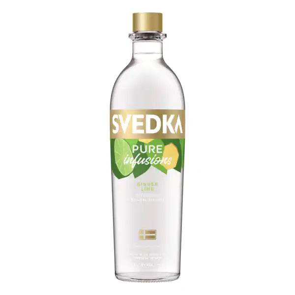 Svedka Vodka Pure Infusions Ginger Lime - Nestor Liquor