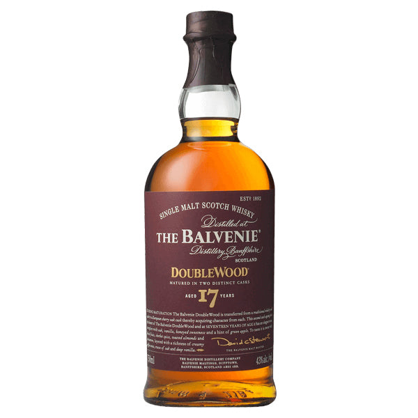 The Balvenie Doublewood Single Malt Scotch Whiskey 17 Year - Nestor Liquor