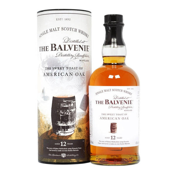 The Balvenie The Sweet Toast Of American Oak Aged 12 Years - Nestor Liquor