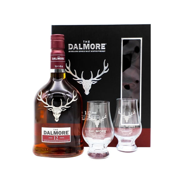 The Dalmore 12 Year Gift Set W/2 Glasses - Nestor Liquor