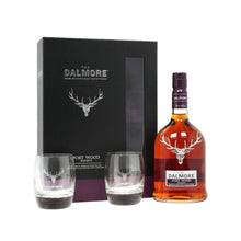 The Dalmore Port Wood Reserve W/2 Glasses