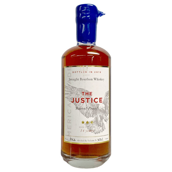 The Justice 14 Year Straight Bourbon Whiskey - Nestor Liquor
