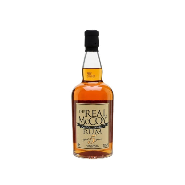 The Real McCoy Rum 5YR - Nestor Liquor