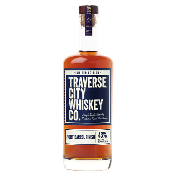 Traverse City Straight Bourbon Port Finish 86 PF - Nestor Liquor