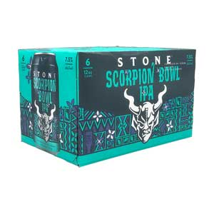 Stone Brewing Scorpion Bowl Ipa 6pk 12oz Cans - Nestor Liquor