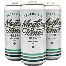 Modern Times Orderville Hazy Mosaic Ipa 4pk 16oz Cans