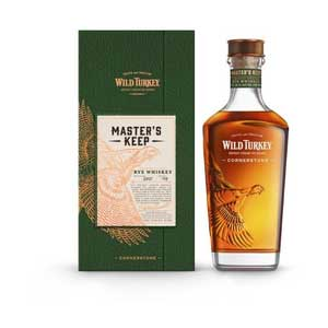 Wild Turkey Master's Keep Cornerstone Rye Batch 001 109 Proof - Nestor Liquor