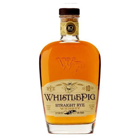 WhistlePig Straight Rye 10 Year 375ml - Nestor Liquor
