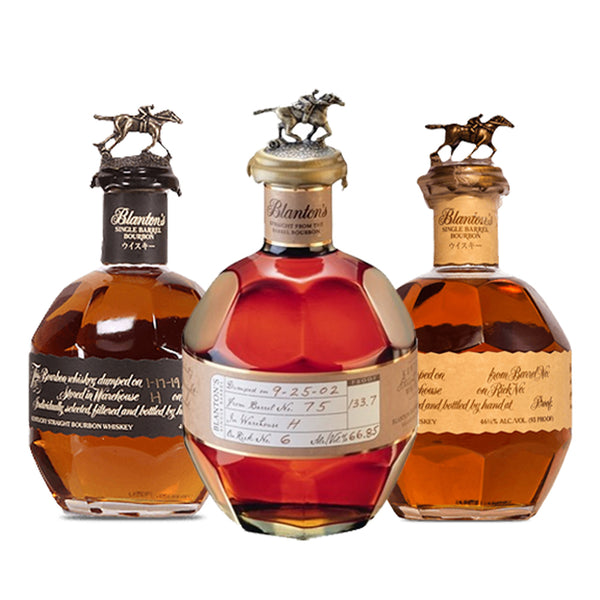 Blantons Straight from the Barrel + Blantons Black + Blantons Red Takara Special - Nestor Liquor