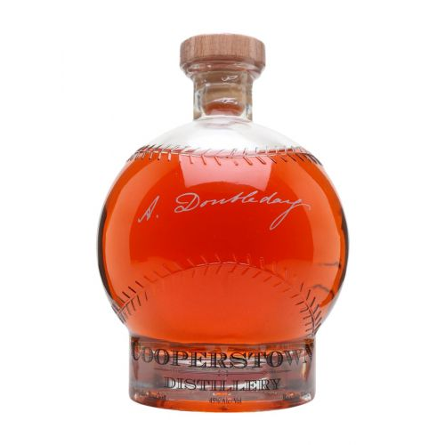 Cooperstown Doubleday Baseball Bourbon 90 Proof - Nestor Liquor