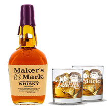 "Maker's Mark Limited Edition Lakers Gift Set ""Home Court Edition"""
