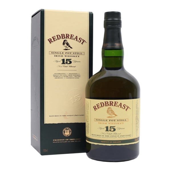 Redbreast Single Pot Still 15 Years - Nestor Liquor