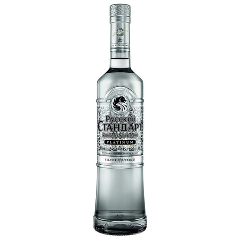Russian Standard Platinum Vodka - Nestor Liquor