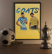 Load image into Gallery viewer, Aubameyang And Wright Poster - SuperIbra