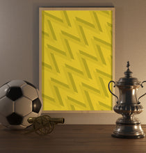 Load image into Gallery viewer, 2021 Yellow Pattern Poster - SuperIbra