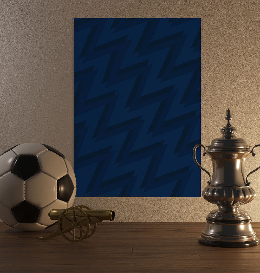 2021 Blue Pattern Poster - SuperIbra