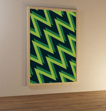 Load image into Gallery viewer, 2021 Green Pattern Poster - SuperIbra