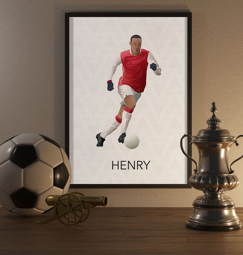 Thierry Henry Poster - SuperIbra