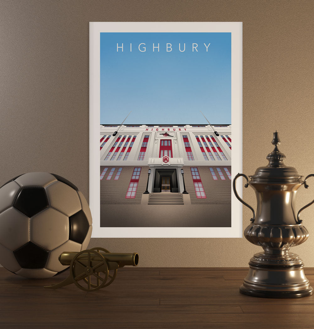 Highbury Poster - SuperIbra