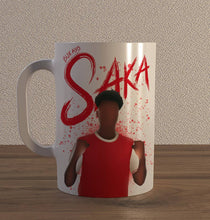 Load image into Gallery viewer, Bukayo Saka Ceramic Mug - SuperIbra
