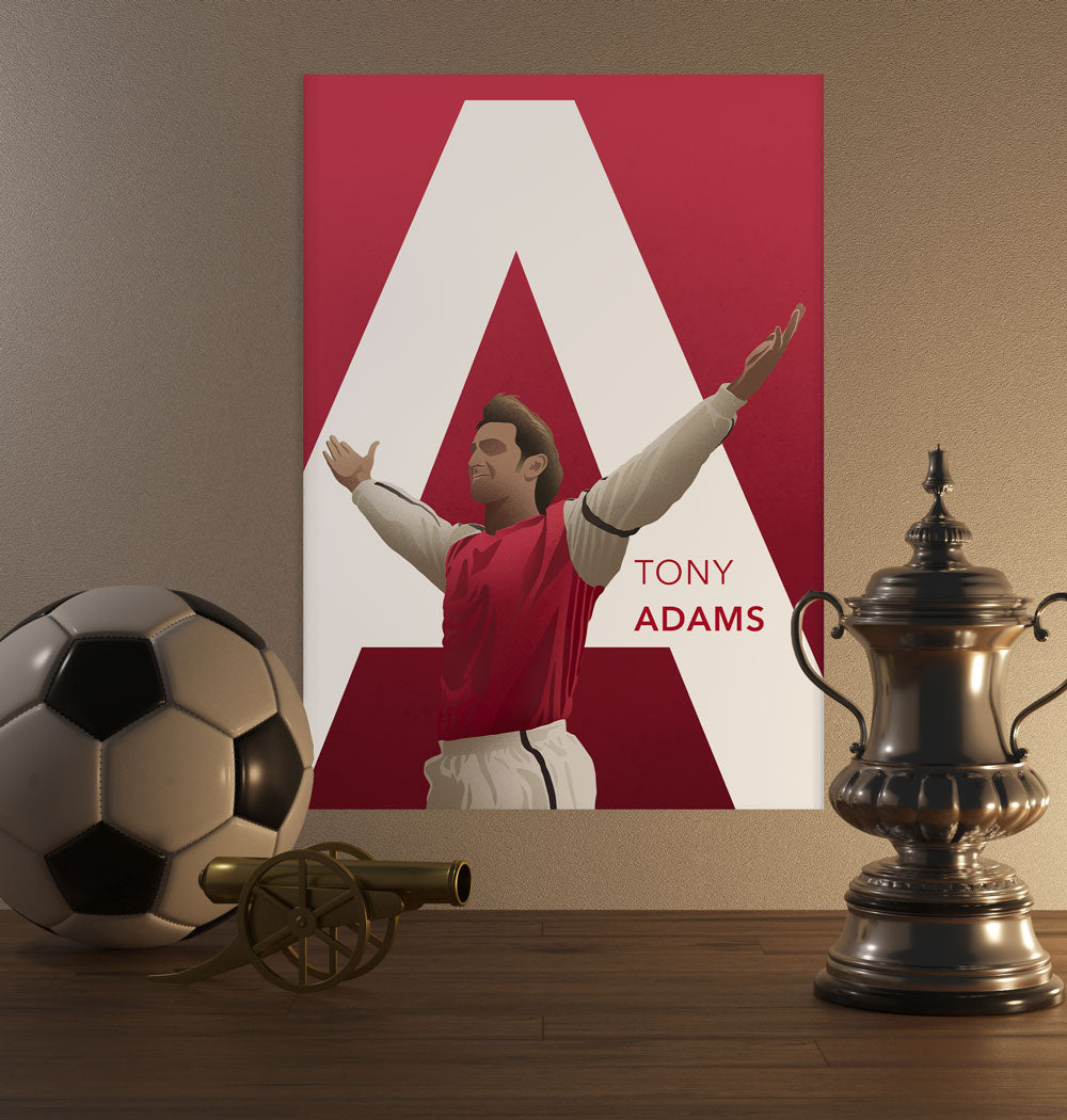 Tony Adams Poster - SuperIbra