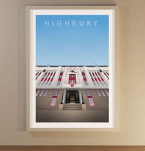 Load image into Gallery viewer, Highbury Poster - SuperIbra