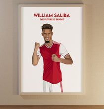 Load image into Gallery viewer, Saliba Poster - SuperIbra