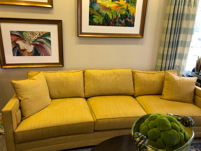 Clairee Sofa Golden Yellow