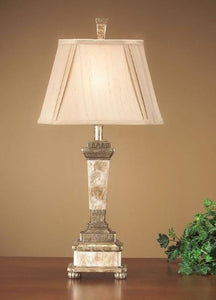 "29.5"" Capant Gold Lamp, Pair"
