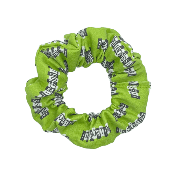 It's Showtime Scrunchie - Inspired by Beetlejuice