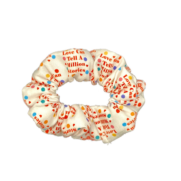 Love Can Tell A Million Stories Scrunchie - Inspired by Falsettos