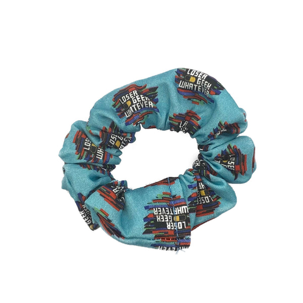 Loser Geek Whatever Scrunchie- Inspired by Be More Chill