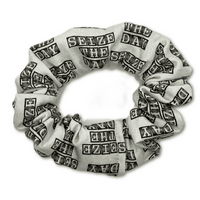 Seize The Day Scrunchie - Inspired by Newsies