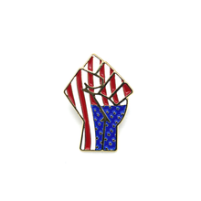 Load image into Gallery viewer, Black Power Fist x American Flag