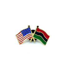 Load image into Gallery viewer, American Flag x Pan African Flag