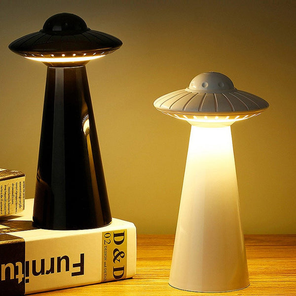 UFO design LED table lamp by NT