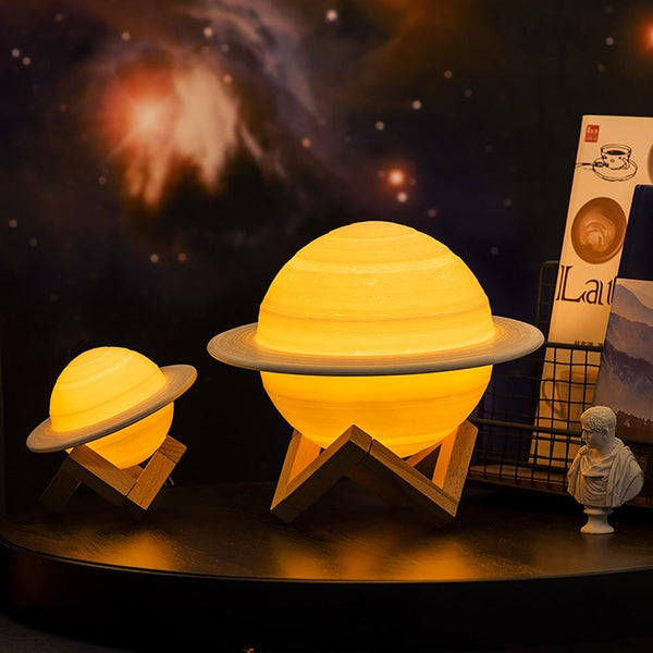 3D Print Saturn Lamp by NT