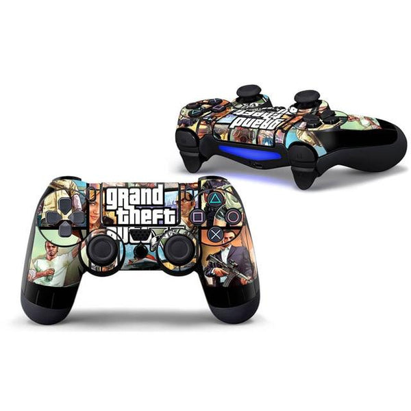 GTA PS4 controller skin by NT